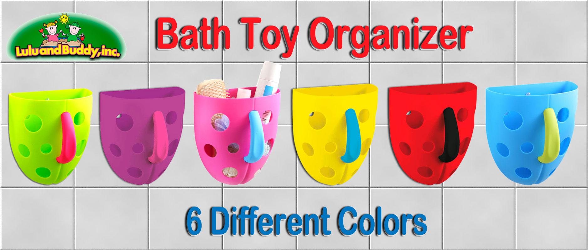 Bathroom Toys Storage Toddler Bath Toys Organizer Luluandbuddycom